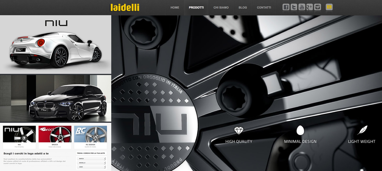 Laidelli Wheels